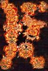 Composax18-EC5gradGlow-EC7FromEdges-FlameEmbroidery-BlackBg-VP5OilPainting-OnCanvasHemp-RGES