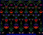 FacialAttractorPatterns-on-Wall3-RGES